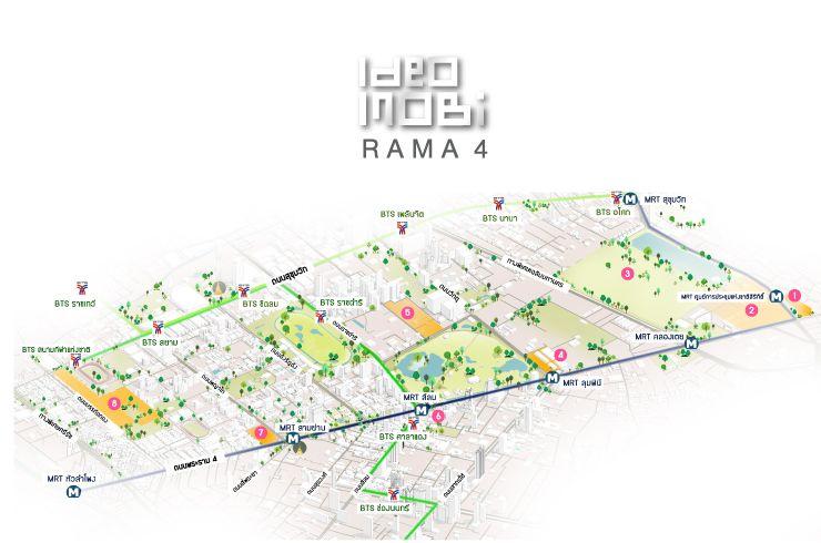 ภาพรวมตลาดโครงการ Ideo Mobi Rama 4