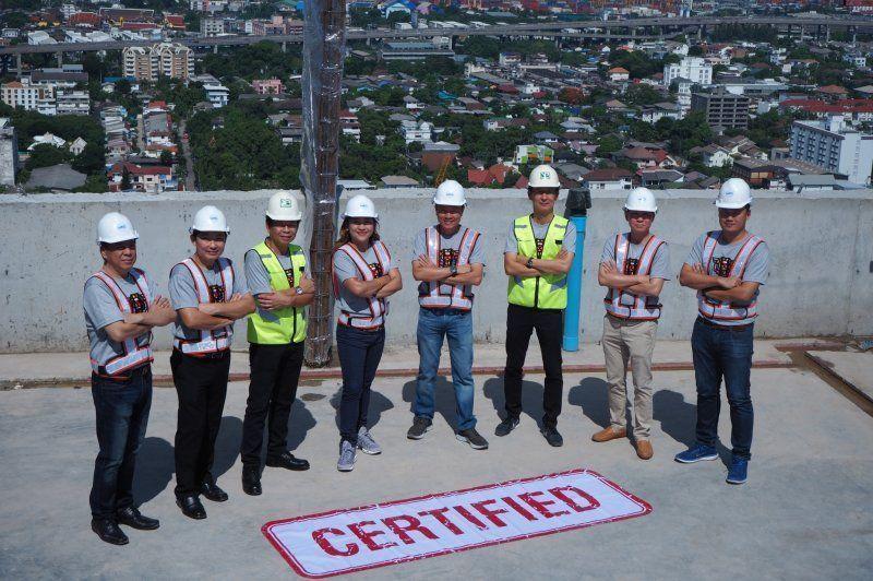 อนันดาฯ ตรวจคุณภาพงานก่อสร้าง โครงการ ไอดีโอ สุขุมวิท 93